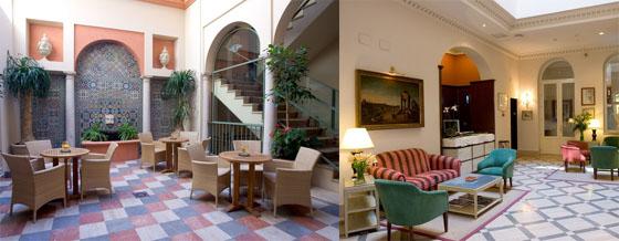 h tel casa romana espagne andalousie seville h tel espagne andalousie. Black Bedroom Furniture Sets. Home Design Ideas