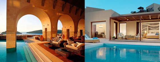 hôtel de luxe grece