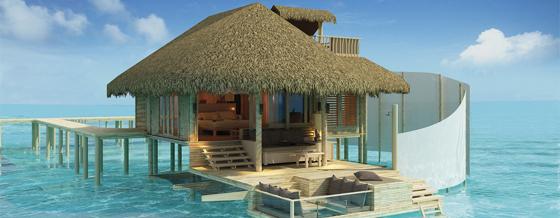 H tel six senses laamu maldives atoll laamu - Maison sur pilotis maldives ...